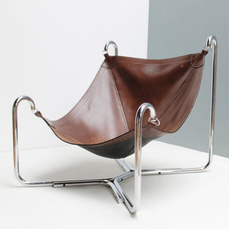 Baffo Lounge Chair by Didone and Pareschi for Busnelli For Sale 4