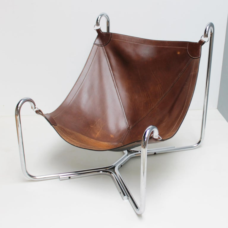 Baffo Lounge Chair by Didone and Pareschi for Busnelli For Sale 5