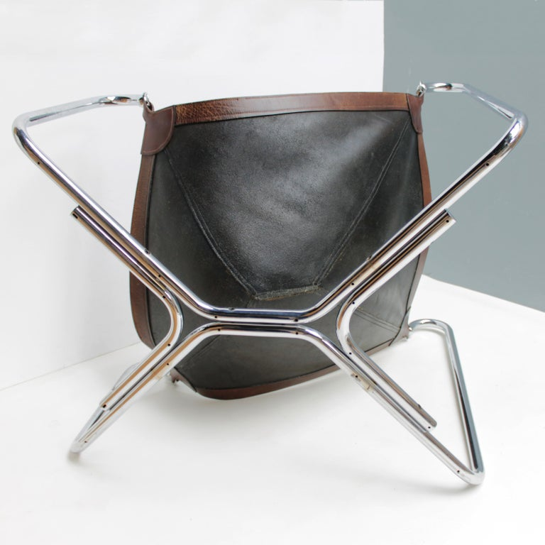 Baffo Lounge Chair by Didone and Pareschi for Busnelli For Sale 7