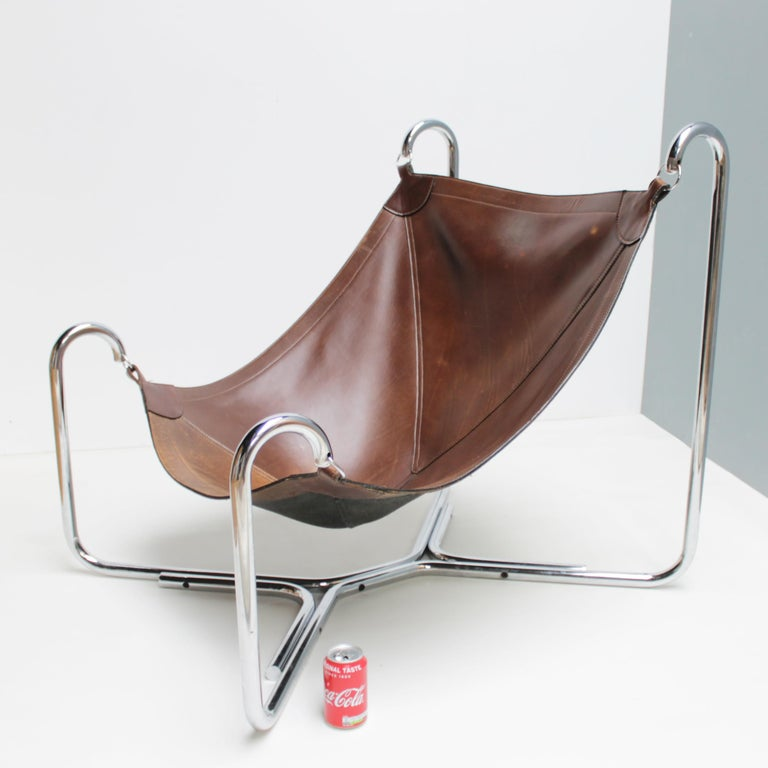 Baffo Lounge Chair by Didone and Pareschi for Busnelli For Sale 11