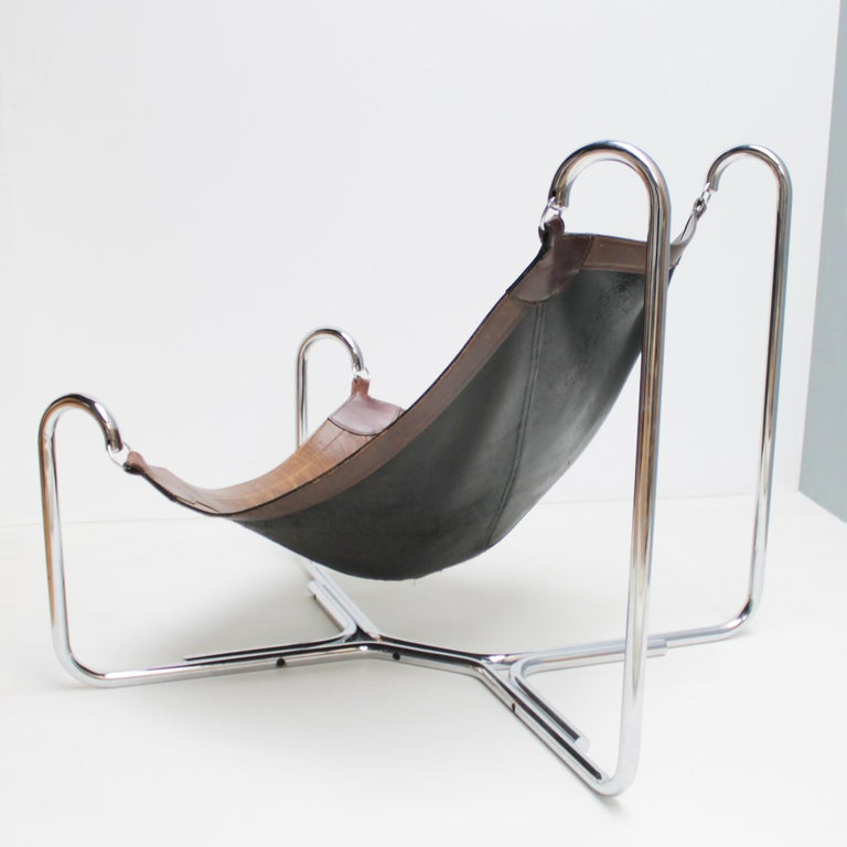 Baffo Lounge Chair by Didone and Pareschi for Busnelli In Good Condition For Sale In JM Haarlem, NL