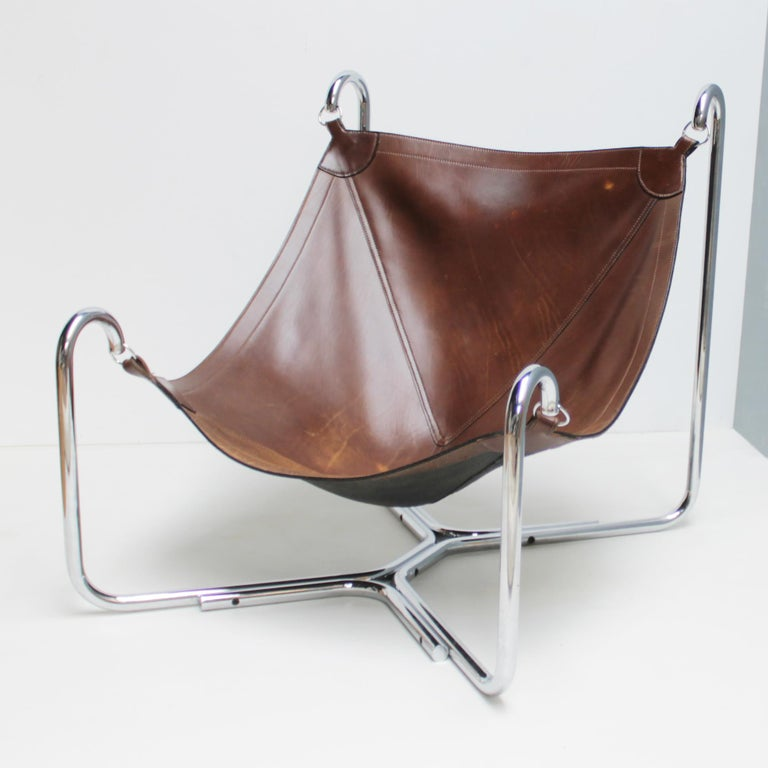 Mid-20th Century Baffo Lounge Chair by Didone and Pareschi for Busnelli For Sale