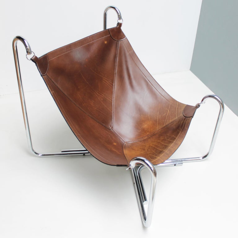 Baffo Lounge Chair by Didone and Pareschi for Busnelli For Sale 2
