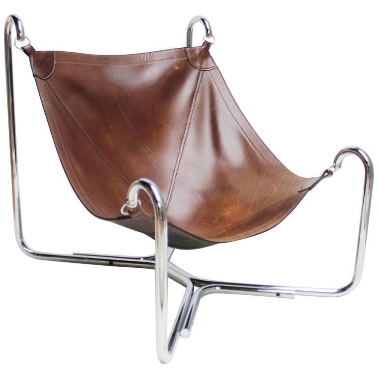 Baffo Lounge Chair by Didone and Pareschi for Busnelli For Sale