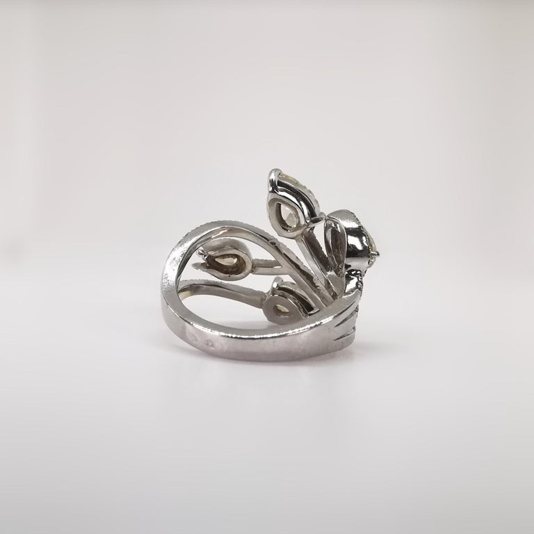 Bagatelle Roses Ring Created by Marion Jeantet For Sale 5