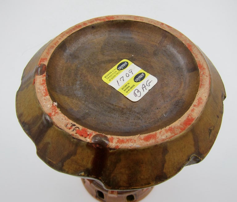 Bagni Ceramiche Italian Modern Vase Designed by Alvino Bagni for Raymor 1