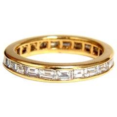 Baguette Diamonds Eternity Ring