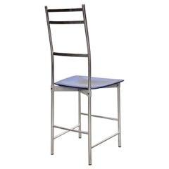 Bagutta Aluminium Chair by Opera Design for Ycami, 1980s