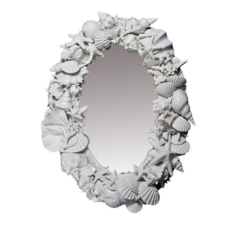 Bahamas Ceramic Mirror