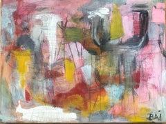 Mira, acrylic on canvas