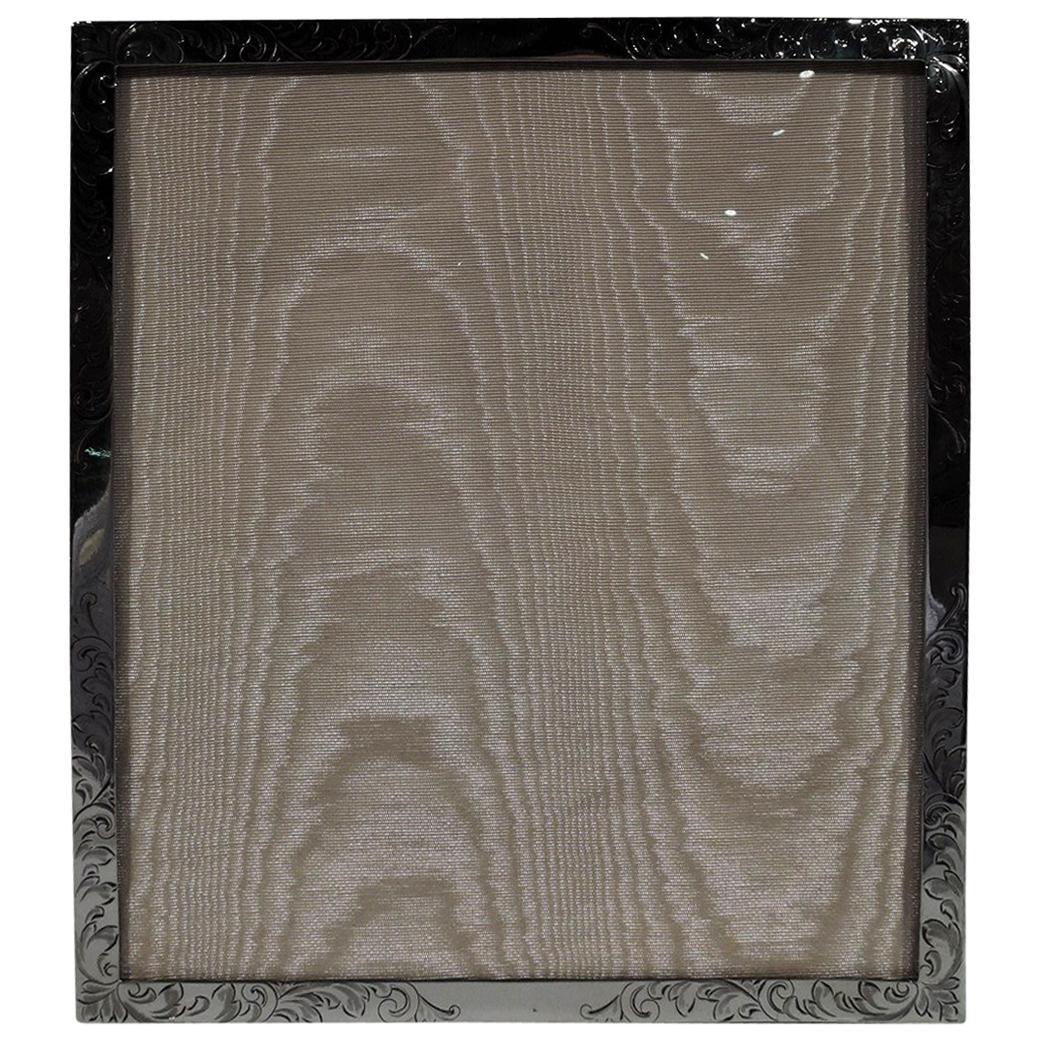 Bailey, Banks & Biddle Art Nouveau Sterling Silver Picture Frame
