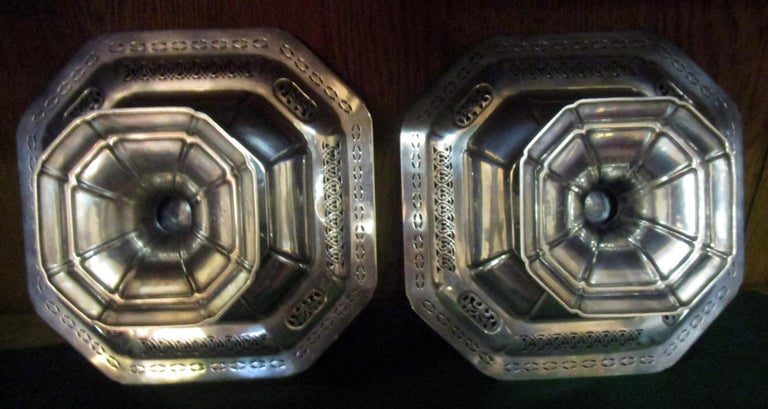 Bailey Banks & Biddle Co. Sterling Silver Tazza, Pair In Good Condition For Sale In Savannah, GA