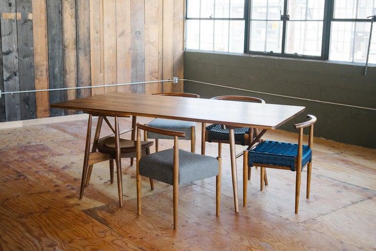 Bainbridge Family Table Modern Solid Custom Dining Table