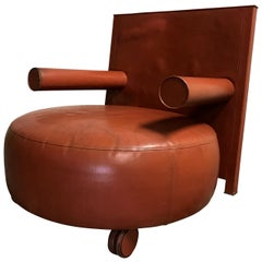 Baisity Lounge Chair by Antonio Citterio for B&B Italia, 1980s