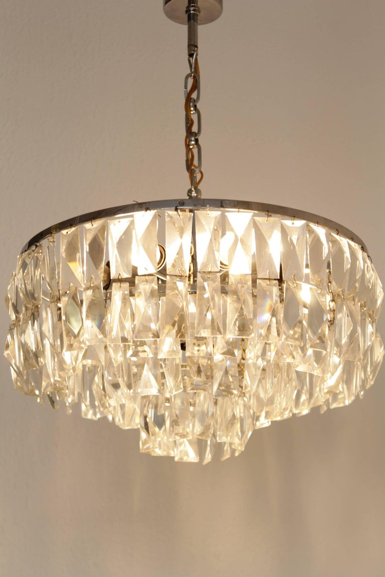 Austrian Bakalowits and Sohne Crystal Chandelier For Sale
