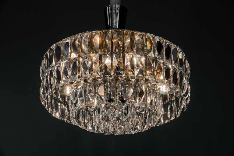 Bakalowits Crystal Chandelier, circa 1960s For Sale 3