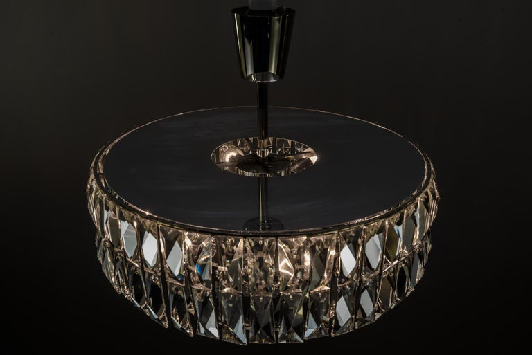 Bakalowits Crystal Chandelier, circa 1960s For Sale 4