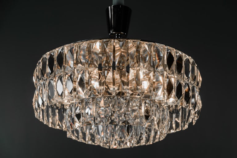 Bakalowits Crystal Chandelier, circa 1960s For Sale 6