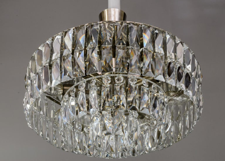Austrian Bakalowits Crystal Chandelier, circa 1960s For Sale