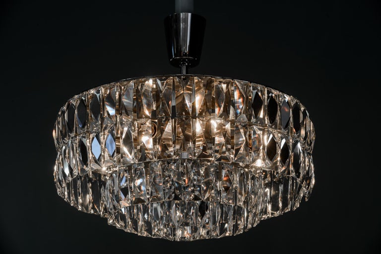 Bakalowits Crystal Chandelier, circa 1960s For Sale 2