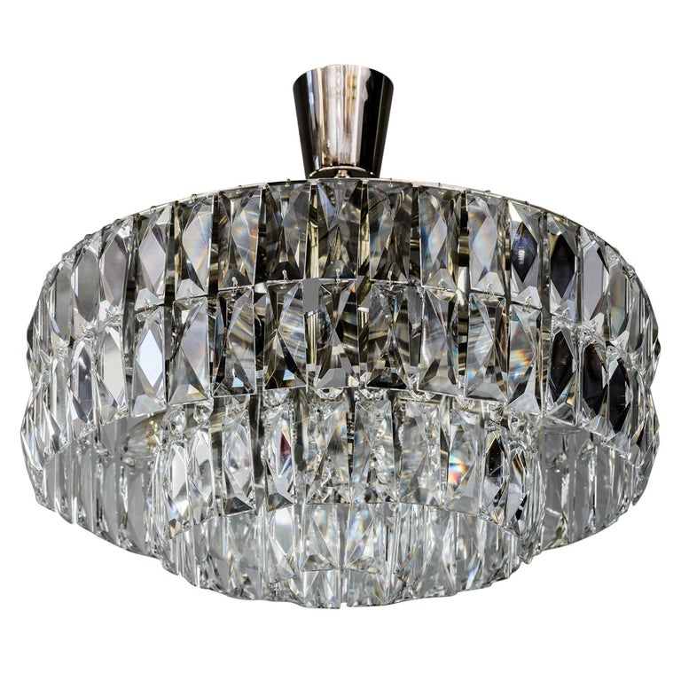 Bakalowits Crystal Chandelier, circa 1960s For Sale