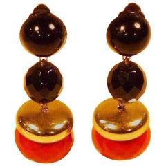 Bakelite earrings from the 1920/30s