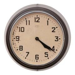 Bakelite Office Clock by Metamec, c.1950