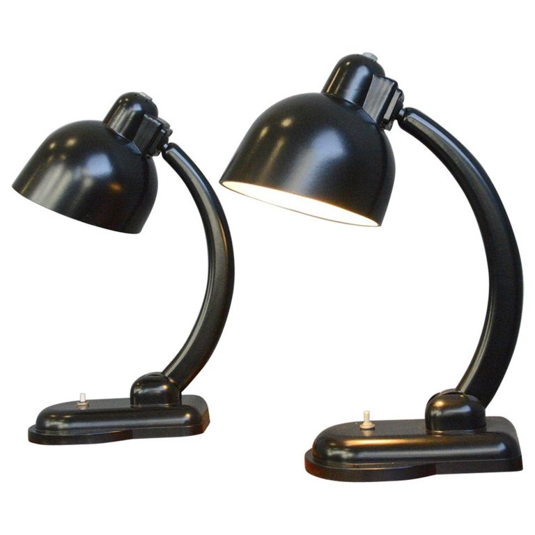 Bakelite Table Lamps, circa 1940s For Sale