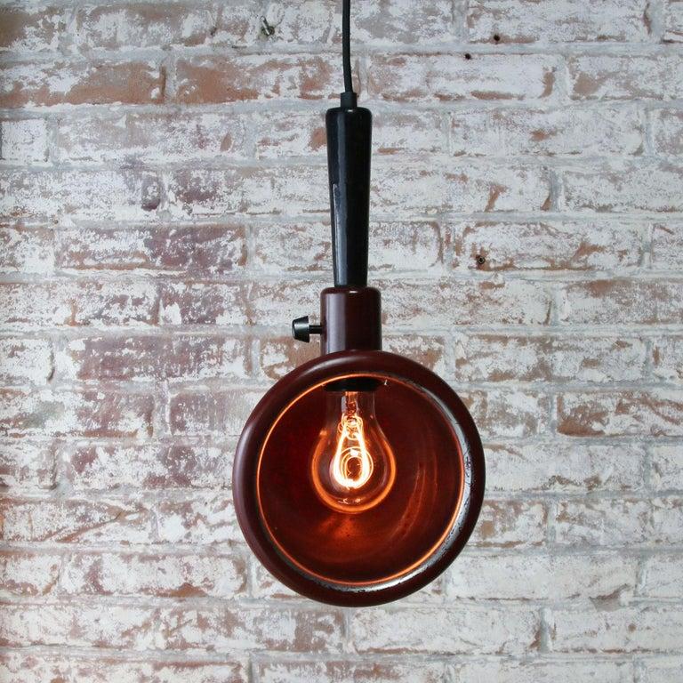 20th Century Bakelite Vintage Industrial Photography Dark Room Work Lights For Sale