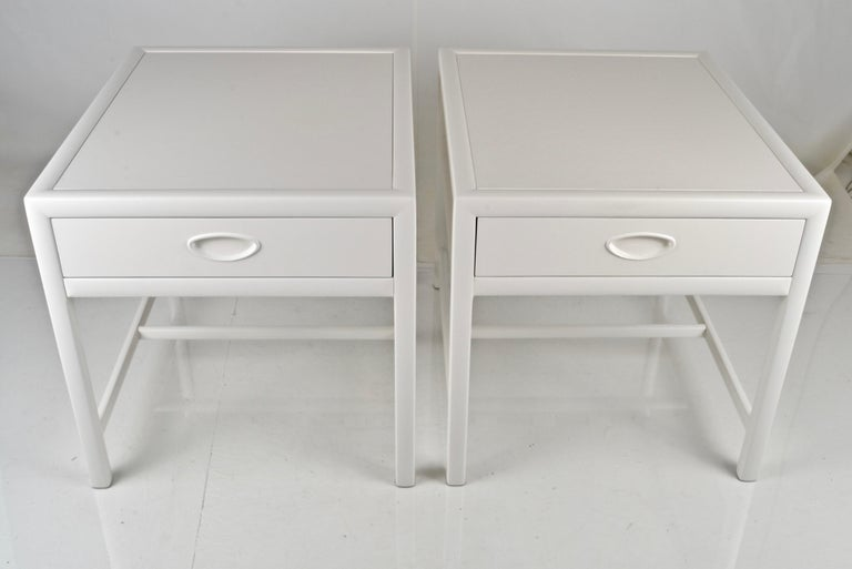 Mid-Century Modern Baker End Tables, circa 1950s For Sale
