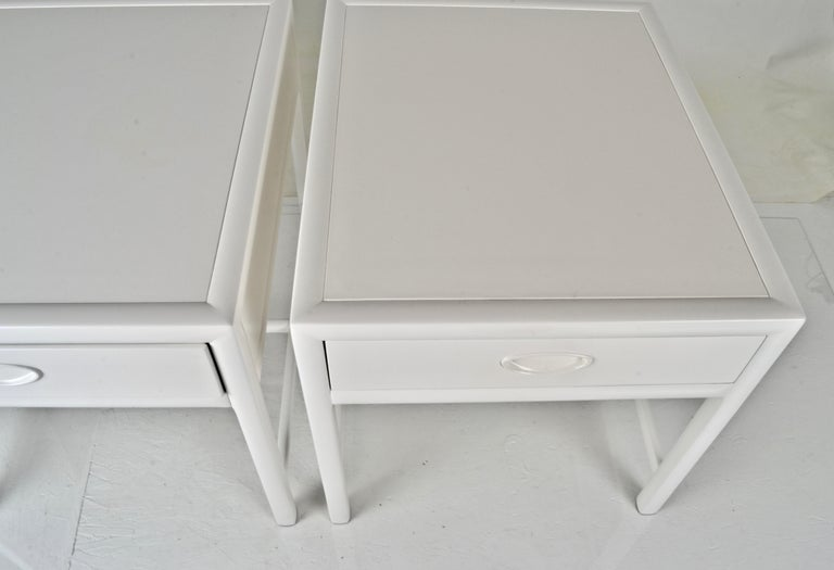 Baker End Tables, circa 1950s In Good Condition For Sale In Norwalk, CT