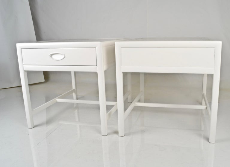 Baker End Tables, circa 1950s For Sale 1