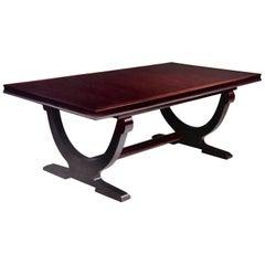 Baker Furniture Barbara Barry Collection Mahogany Rectangular Dining Table