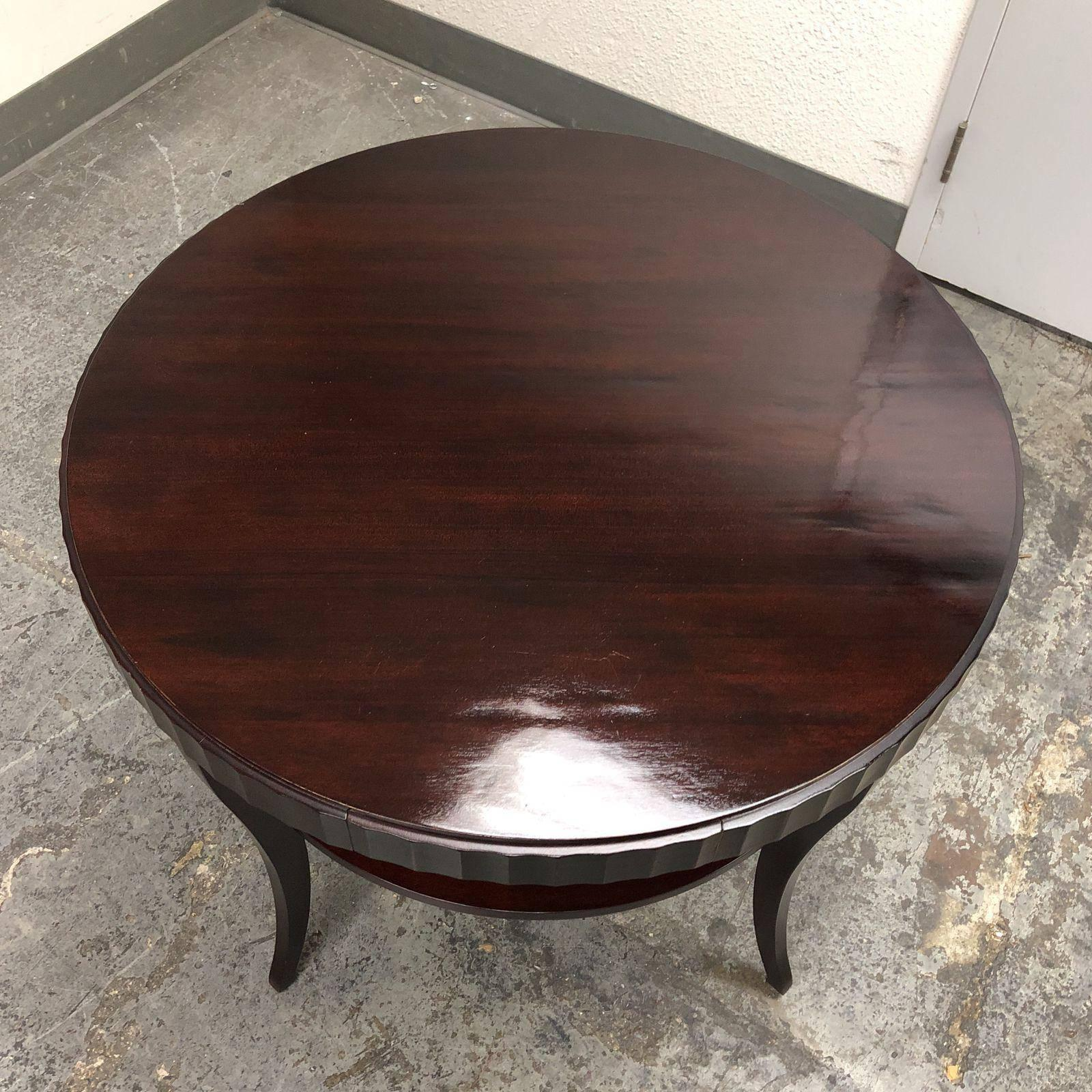 Baker Furniture Barbara Barry Side Or Entry Table For Sale At 1stdibs