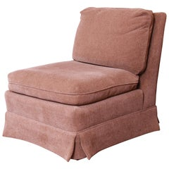 Baker Furniture Contemporary Upholstered Slipper Chair