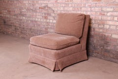 Baker Furniture Contemporary Upholstered Slipper Chair