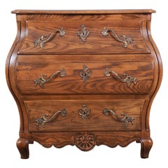 Baker Furniture French Provincial Louis XV Style Bombay Chest of Drawers