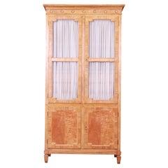 Baker Furniture French Regency Primavera Armoire Dresser, Circa 1960s