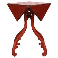 Baker Furniture Georgian Mahogany Handkerchief Drop Leaf Side Table