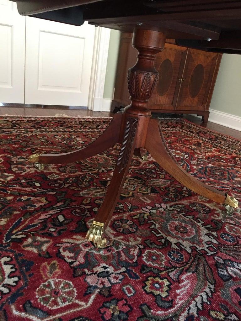 Baker Furniture Historical Charleston Mahogany Pedestal