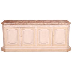 Baker Furniture Mediterranean Style Sideboard Credenza or Bar Cabinet