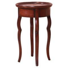 Baker Furniture Milling Road French Provincial Mahogany Side Table