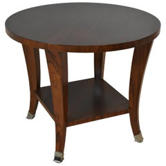 Baker Furniture Occasional Table Rosewood Barbara Barry