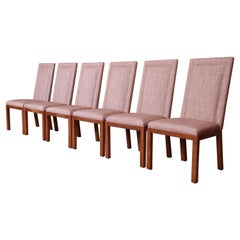 Baker Furniture Parsons Dining Chairs, Newly Reupholstered