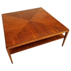 Baker Furniture Square Coffee Table