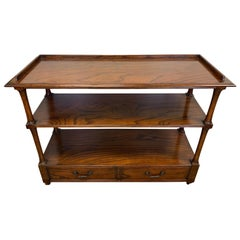 Baker Furniture Tiered Console Buffet