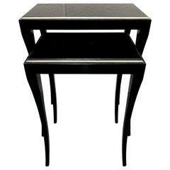 Jacques Garcia Collection for Baker Furniture Gorgone Nesting Tables
