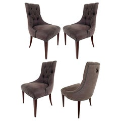 """Baker """"Ritz"""" Dining Chairs by Thomas Pheasant, Set of 4"""