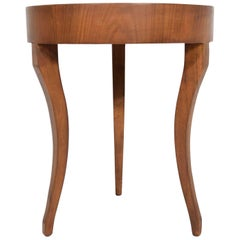 Baker Side Table with Three Legs