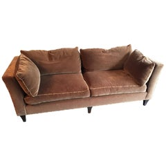 Baker Mohair Sofa Madison in Taupe  or Mushroom